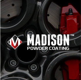Web Design For Madison powder Coating