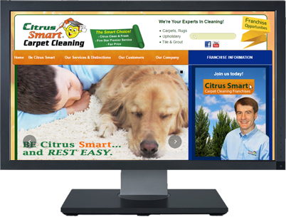 Web Design For Be Citrus Smart