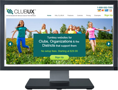 Web Design For ClubUX