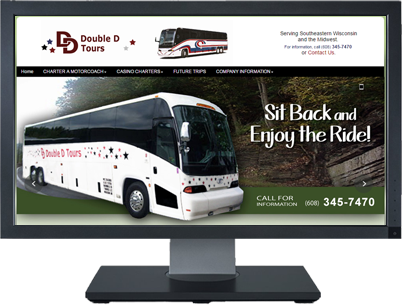 Web Design for Double D Tours