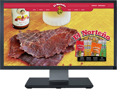 Web Design for El Norteno