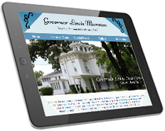Web Design Governor Lewis Mansion