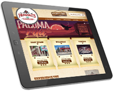 Web Design for Pasqual's Cantina