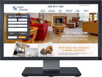 Web Design for R&R Carpet Cleaning