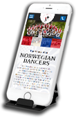 Web Design for Stoughton Norwegian Dancers