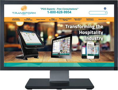 Web Design for TransformPOS