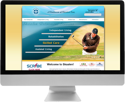 Madison Web Design for Skaalen Retirement Services
