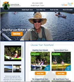 Adventure Kayak Florida Web Designers in Madison WI