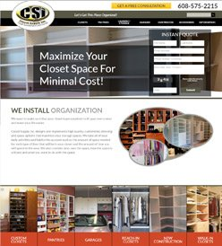 Closet Supply Inc. By ISADEX Web Design