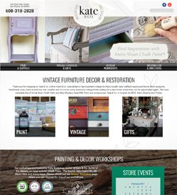 Kate Company Gifts Website Design Madison WI